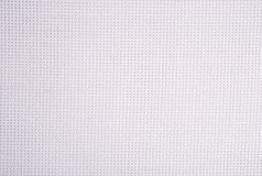 White cotton canvas for needlework as background Royalty Free Stock Photo