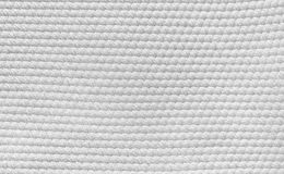White cotton cloth texture Stock Image