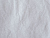 White cotton fabric background Royalty Free Stock Photo