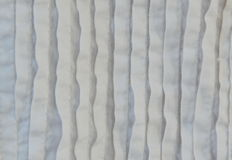 White cotton wave texture and background Stock Photography