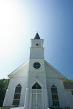 White country church Royalty Free Stock Photos