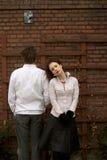 White Couple Stock Photo