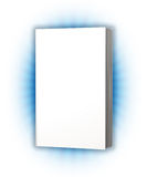 White cover book Stock Image