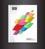 White Cover design template Stock Images