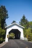 White covered bridge Royalty Free Stock Photo