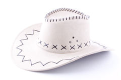 White cowboy hat Stock Photos