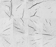 White cracked wooden beam background texture Royalty Free Stock Photo
