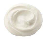 White cream Royalty Free Stock Photo