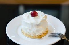White Cream Cake Royalty Free Stock Image