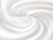 White cream Stock Photo