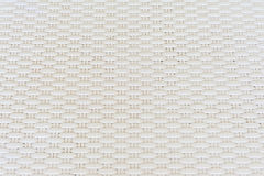 White cream plastic surface with repeating pattern. Stock Photography