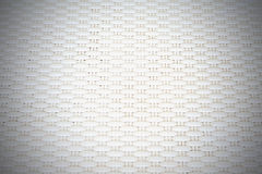 White cream plastic surface with repeating pattern. Royalty Free Stock Images
