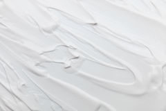 white cream texture for pattern and background stock photo