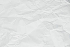 White creased paper Stock Photos