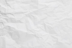 White creased paper Royalty Free Stock Images