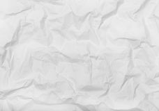 White creased paper Royalty Free Stock Photography