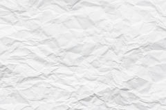 White creased paper Stock Images