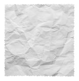 White creased paper Stock Image