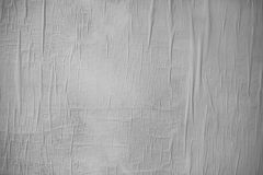 White creased paper as background texture royalty free stock image