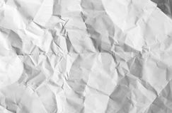 White creased paper texture Royalty Free Stock Photo