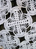 White crochet Stock Image