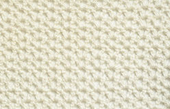 White crochet background Royalty Free Stock Photos