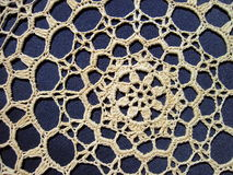 White crochet Stock Images