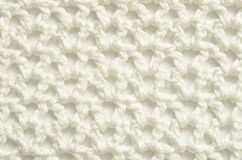 White crochet cloth Royalty Free Stock Images