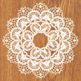 White crochet doily. Stock Images