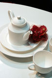 White crockery Royalty Free Stock Photography