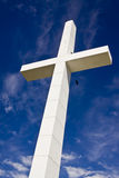 White cross Royalty Free Stock Image