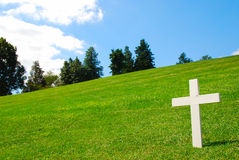 White Cross Stock Images