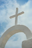 White cross Royalty Free Stock Photography