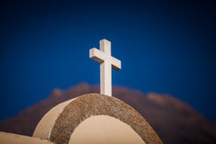 White cross Stock Photography