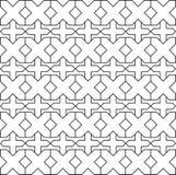 White x cross symbol pattern on white background. stock illustration