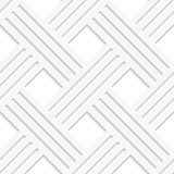 White crossed lines seamless Royalty Free Stock Photos