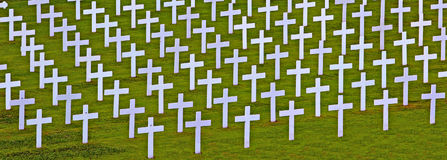 White crosses Stock Photo
