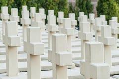 White crosses Stock Photos