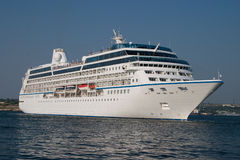 White cruise liner Stock Photo