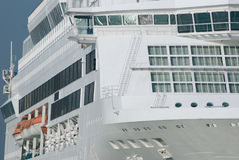 White cruise ship Stock Photo
