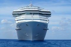 White Cruise Ship Royalty Free Stock Photo