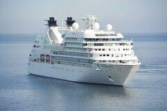 White Cruise Ship on Blue Body of Water during Daytime Royalty Free Stock Photos