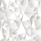 White crumpled abstract background. Vector eps10 Royalty Free Stock Photos