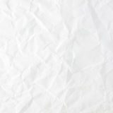 White crumpled paper Royalty Free Stock Photos
