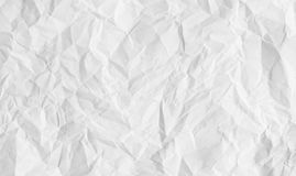 Blank creased paper texture. stock images