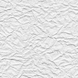 White crumpled paper texture. Royalty Free Stock Photo