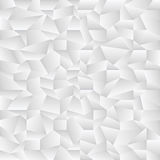 White crumpled pattern Stock Image