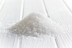 White crystal salt Stock Image