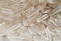 White crystals Stock Image