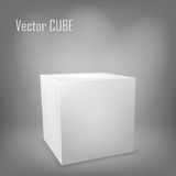 White cube Stock Photo